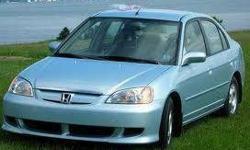 2003 Honda Civic Hybrid Sedan Call 647-782-2403