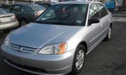 2003 Honda Civic Sedan perfect condition low kms 141km 5900 obo
