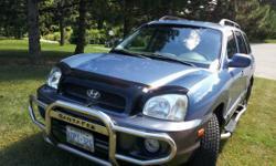 2003 Hyundai Santa fe LX 4x4