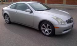 2003 Infiniti G35, 2 Door Coupe, 151K, Silver, NO ACCIDENTS.MINT!!
