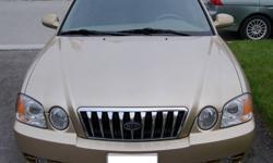 2003 Kia Magentis SE V6 Sedan