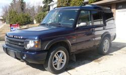 2003 Land Rover Discovery SE7 SUV