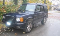 2003 land rover discovery SUV SE
