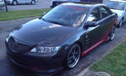 2003 Mazda 6 Customized Car