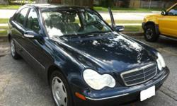 2003 Mercedes-Benz C240 sedan, Leather, MUST BE SEEN