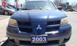 2003 Mitsubishi Outlander XLS