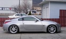 2003 Nissan 350Z silver Coupe
