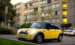 2003 Yellow MINI Cooper for