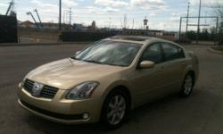 2004 Nissan Maxima SL Sedan - Loaded with Lots of Features!