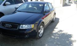 2005 Audi A4 1.8 T Quattro Sedan