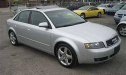 2005 Audi A4 1.8T Quattro AWD Leather Moon  PH:18664127750