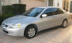 2005 Honda Accord 5 Speed Manual. 110000 kms.