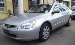 2005 HONDA ACCORD,LEATHER/S.ROOF/ALLOY/4CYLENDER/MINT CONDITION