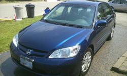 2005 Honda Civic Sedan LX- 5 spd