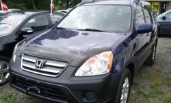2005 HONDA CR-V-EX 4X4