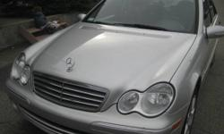 2005 Mercedes-Benz C230 Kompressor 4Doors 1Lady Owner Only103,650KM