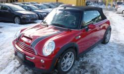 2005 MINI Cooper S SPORT PACKAGE/POWER TOP/ALLOYS Convertible