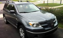 2005 Mitsubishi Outlander - ONLY 155,000km, A1, SAFETY DONE