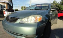 2005 Toyota Corolla Automatic 122000 KM Certified & E Tested