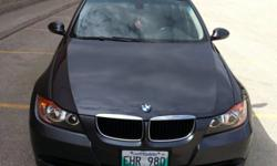 2006 BMW 323I, with spare winter tires/GPS and full tank of gas