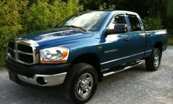 2006 DODGE RAM 2500HD 4X4 - TRX-4 OFF ROAD - CLEAN CAR-PROOF