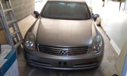 2006 Infiniti G35, Standard, 26,000 kms only, Fully Loaded, negotiable