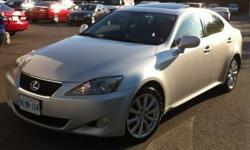 2006 Lexus IS 250 AWD Tiptronic Priced To Sell Fast!! No Accidents!!