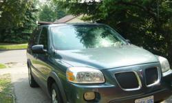 2006 Pontiac Montana gray Minivan