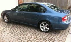 2006 Subaru Legacy - 75400 original kms- best offer