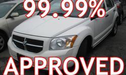 2007 Dodge Caliber CHROME RIMS 100% APPROVED AUTO LOAN
