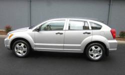 2007 Dodge Caliber SXT CVT, Extended Warranty -- Neat Condition!