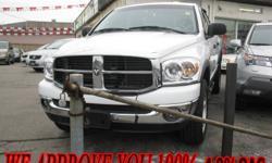 2007 Dodge Power Ram 1500 GUARANTEED APPROVAL 100% 4.9%OAC