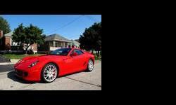 2007 Ferrari 599 GTB Fiorano Red