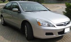2007 Honda Accord Sedan LOW km in great condition