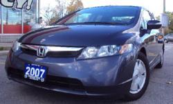 2007 Honda Civic One Owner, 4 to Choose SUPER ECONOMIVC , Hybrid