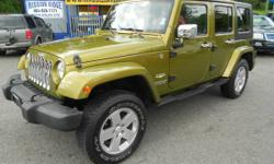 - 2007 Jeep Wrangler Unlimited Sahara
