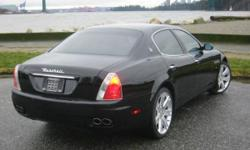2007 Maserati Quattroporte Sport GT, 45k, no accidents, new clutch