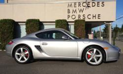 """2007 Porsche Cayman """"S"""" 33,000KM"""