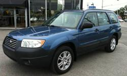 2007 SUBARU FORESTER AWD - COLUMBIA EDITION - CLEAN CAR-PROOF