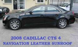 2008 Cadillac CTS 4 AWD NAVIGATION LEATHER SUNROOF for USD