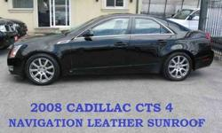2008 Cadillac CTS LEATHER SUNROOF for USD