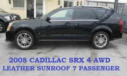 2008 Cadillac SRX 4 SPORT AWD LEATHER PANORAMIC SUNROOF for USD
