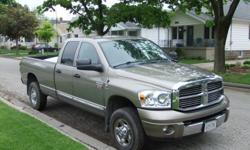 2008 Dodge Power Ram 2500 Laramie Pickup Truck
