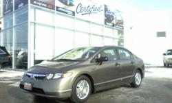 2008 Honda Civic 4dr Auto DX-G Sedan