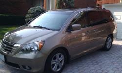 2008 HONDA Odyssey Touring NAVI DVD LEATHER BACKUP CAM PARK ASSIST