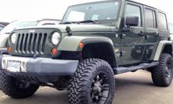 2008 Jeep Wrangler Sahara Unlimited Lifted