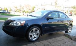 2008 Pontiac G6 SE Sedan !!!57,000 LOW kms!!