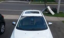 2008 White Mitsubishi Lancer