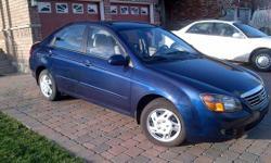 2009 Kia Spectra LX - Blue- Automatic - 75,000 Kms