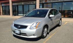 2010 Nissan Sentra 2.0S CVT, w/Alloy and 6200 km and Extended warranty